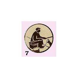 Emblém 7 rybář