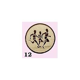 Emblém 12 běžci