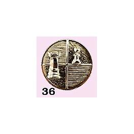 Emblém 36 šachy