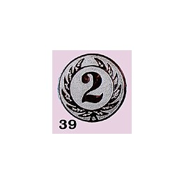 Emblém 39 číslo 2