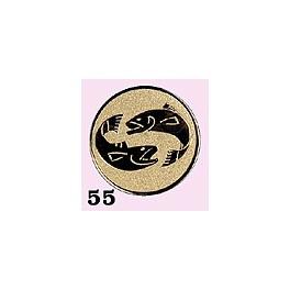 Emblém 55 ryby