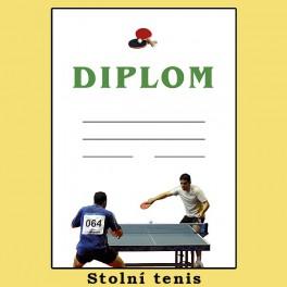 Diplom stolní tenis