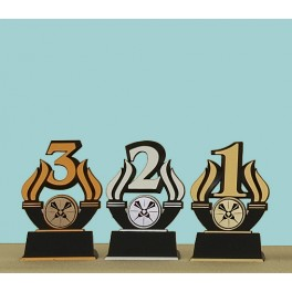 sada trofejí 4 Z,S,B